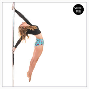 shooting photo de pole dance