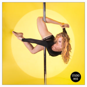 shooting photo de pole dance