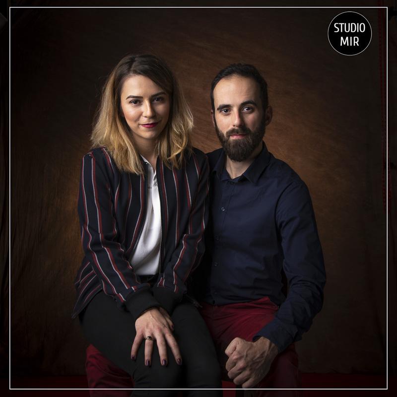 Shooting en couple en Studio dans le Val de Marne