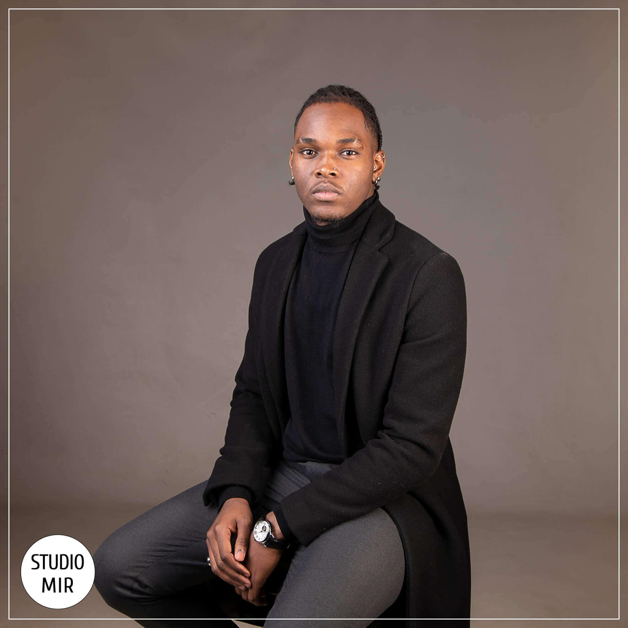 Shooting photos pour homme en Studio proche de Paris