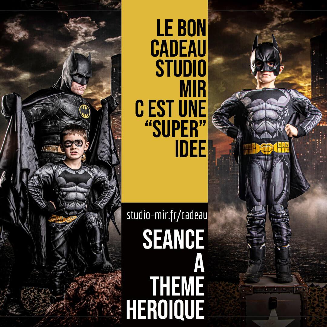 séance photo cadeau heros