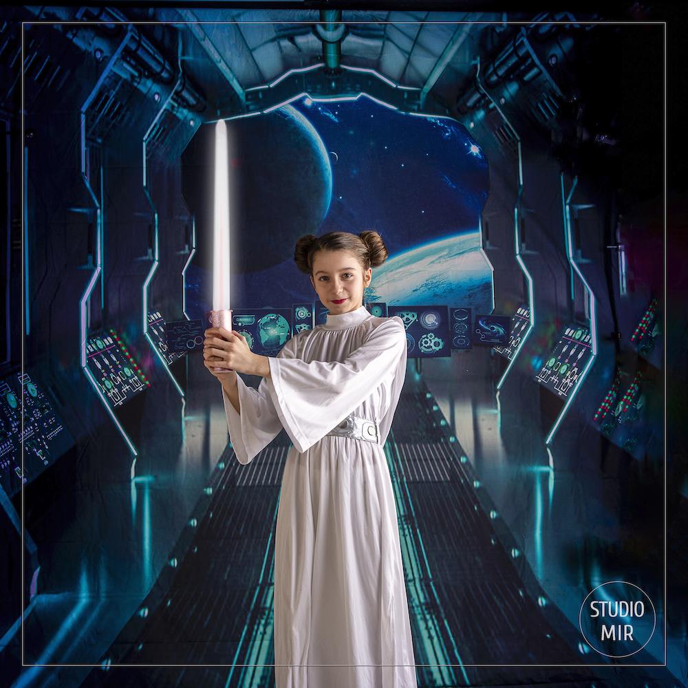 Photographe cosplay : Shooting passion Star Wars en Studio photo proche de Paris