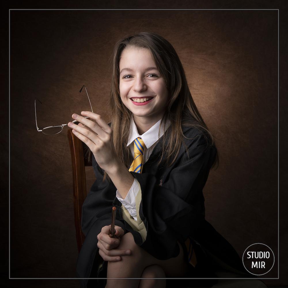 Photographe en studio: Portrait ado Harry Potter dans le Val de Marne