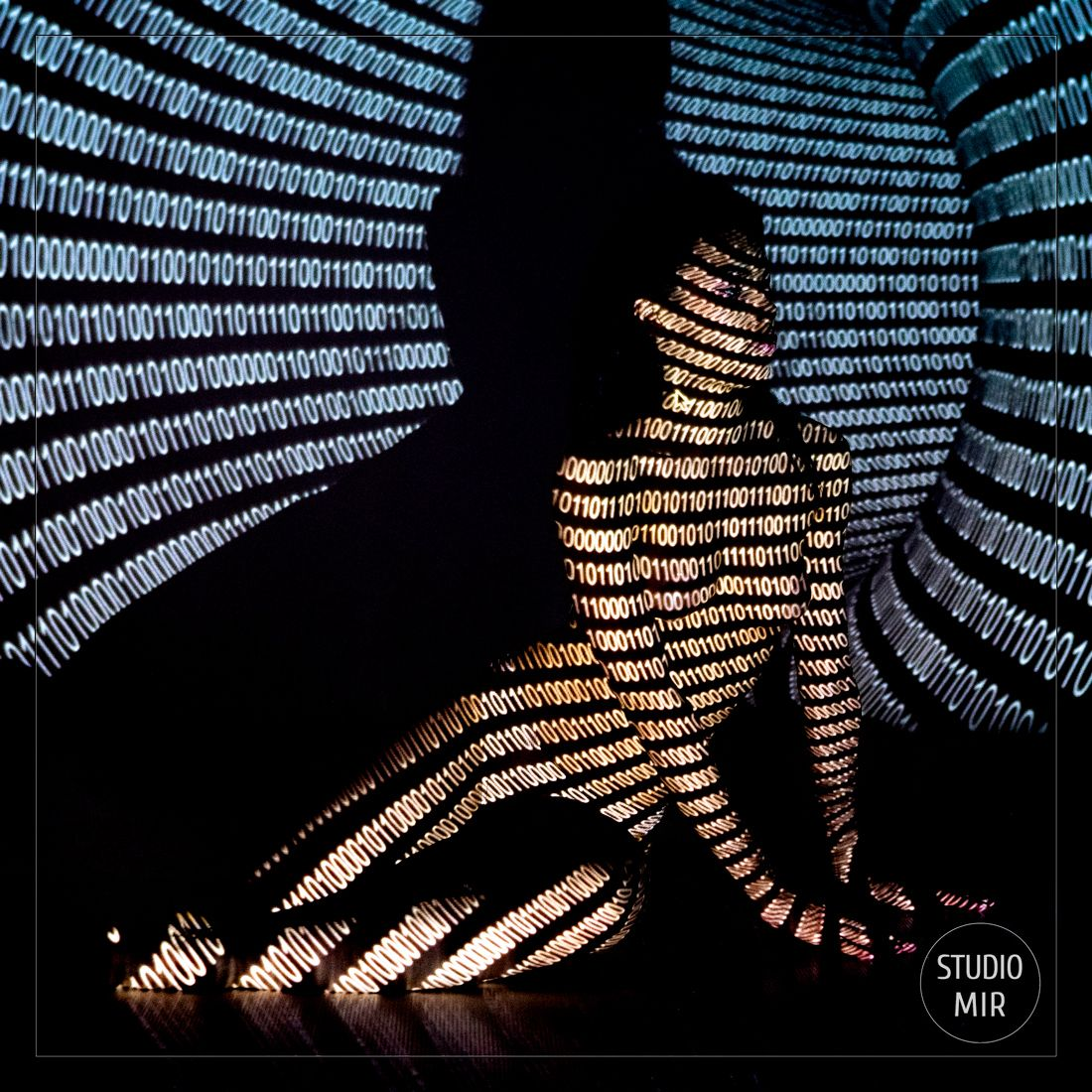 Photographe Boudoir : Projection de motifs sur le corps près de Paris