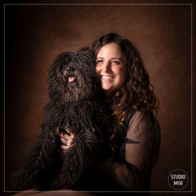 Idée cadeau originale Séance photo chien barbet chez un photographe dans le Val de Marne