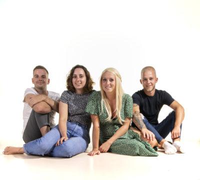 Idée cadeau de noël : séance photo entre amis dans le Val de Marne
