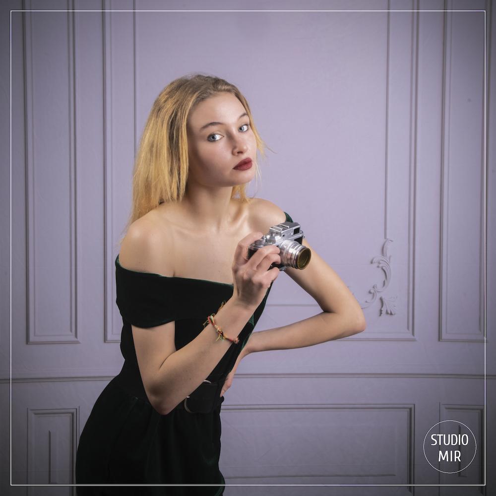 Photographe en studio : shooting photo dans un appartement parisien
