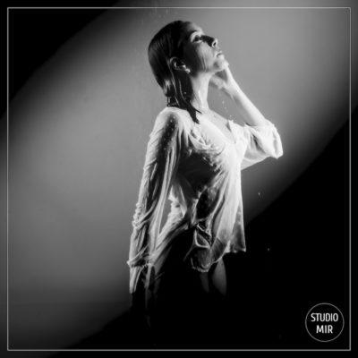 Photographe Boudoir noir et blanc dans le Val de Marne