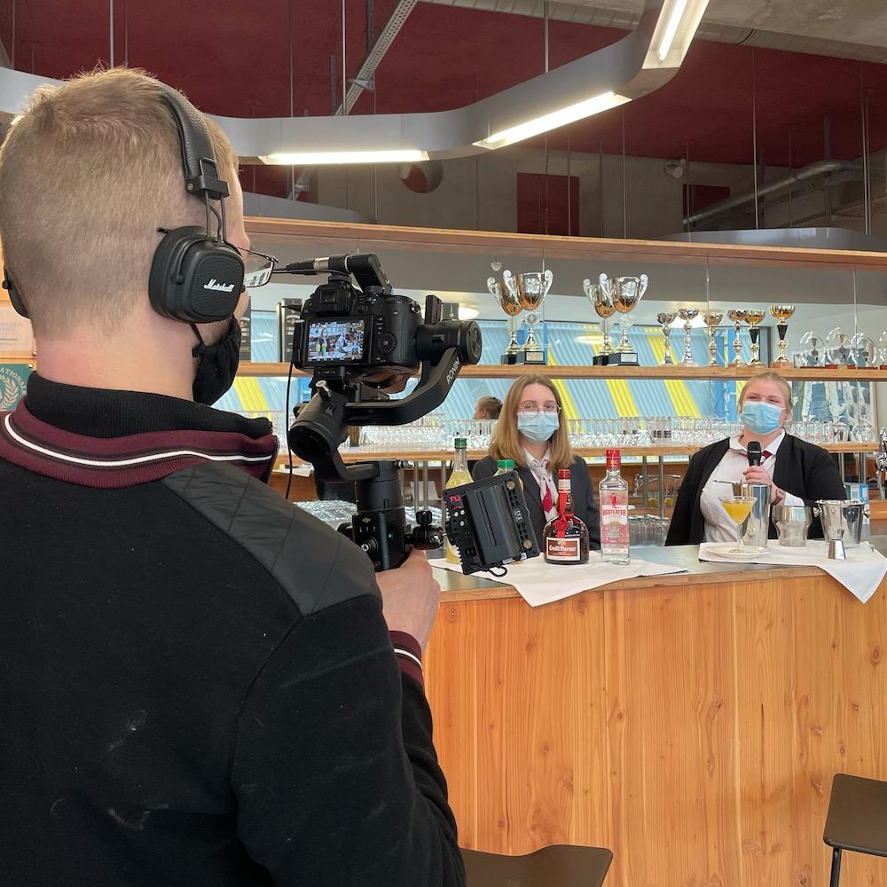Vidéastes dans les hauts de France : Vidéo au lycée Hôtelier International de Lille