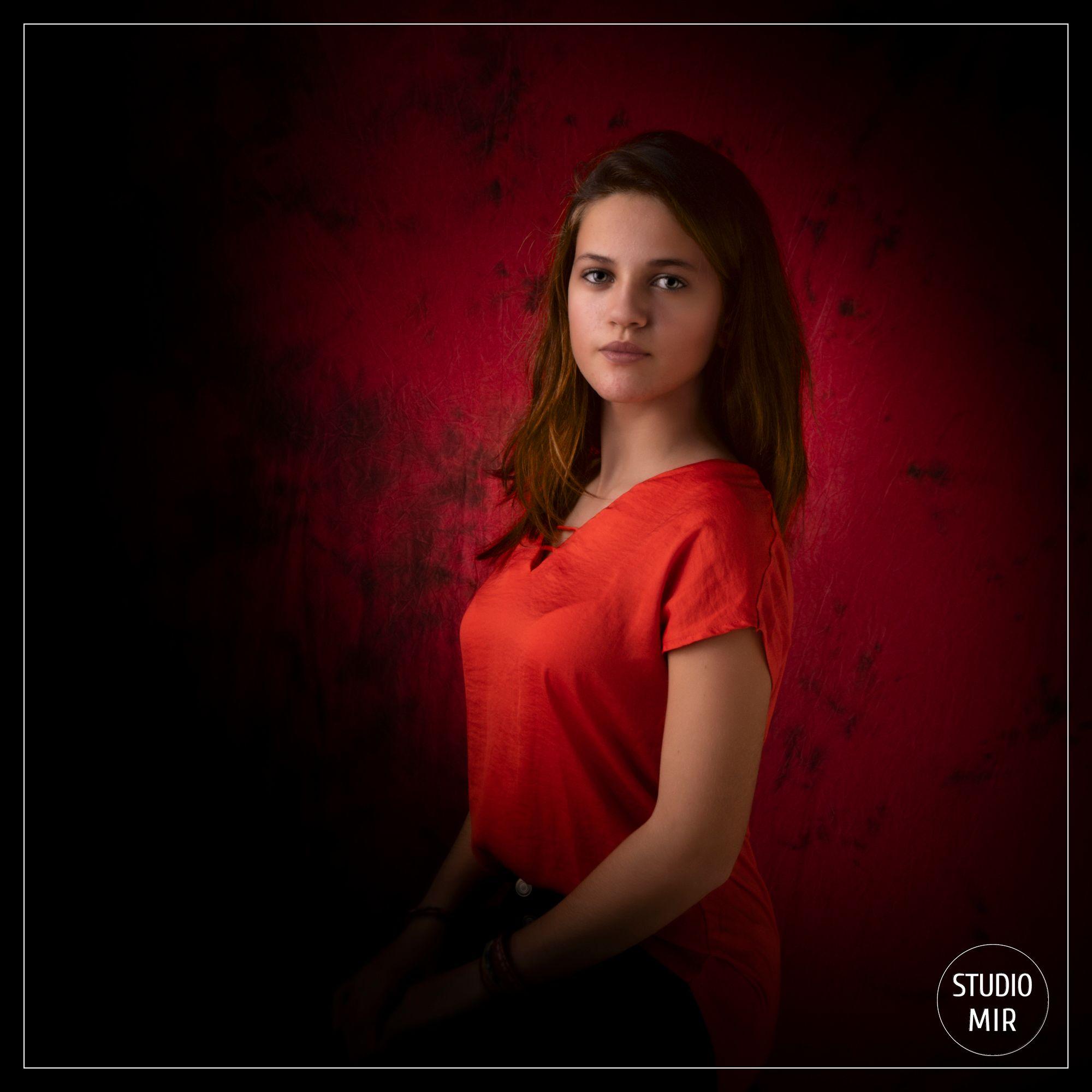 Idée cadeau d'anniversaire pour ado : Séance photo en studio dans le Val de Marne
