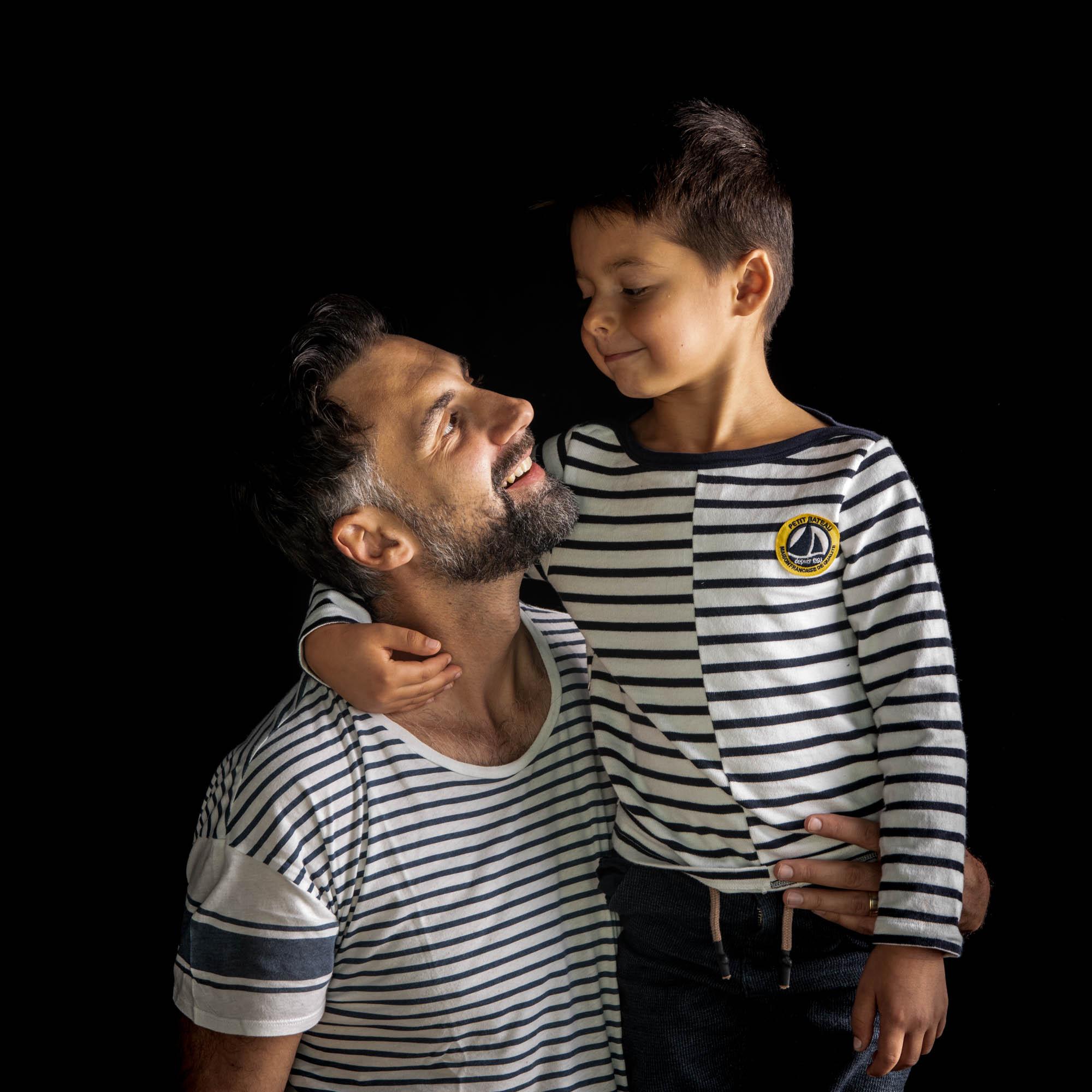 seance photo père et fils dans le Val de Marne